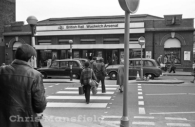 March 1980 .. Woolwich Arsenal station