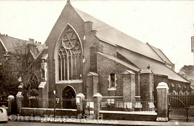approx' 1920.. St Peters Catholic church, Woolwich new road