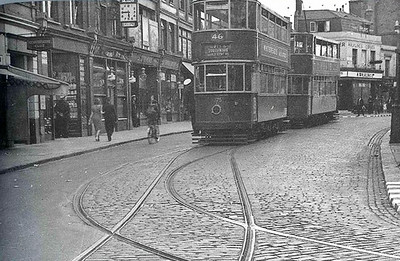 Early 1950s .. Woolwich new road