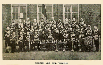 Early 1900s, Salvation army band