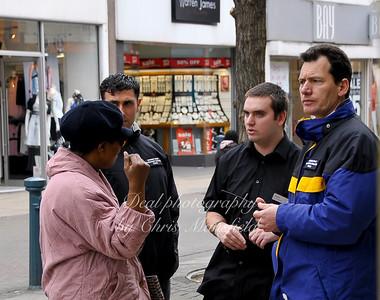 April 18th 2008.. Council Enforcement officers on Powis street