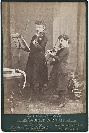 Florence and Evelyn Vincent .