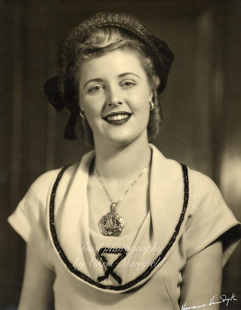 A very young Marie Kingwell wearing the original Woolwich mayoral badge of office ..  at the time her father was Mayor