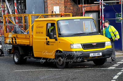 March 15th 2008.. Street cleaners at Callis yard