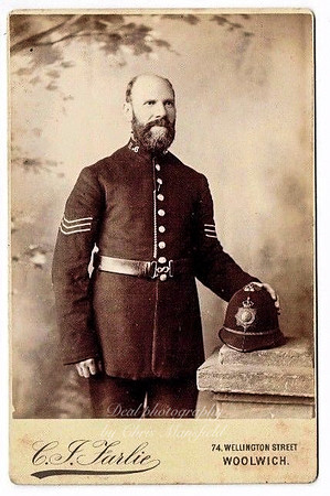 Early 1900s Woolwich Police officer