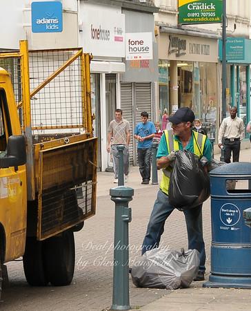 June 1st 2008.  Powis street street cleaner