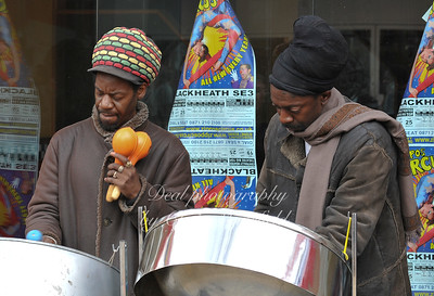 March 29th 2008.. Buskers on Powis street