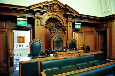 6th Feb' 2009... Town hall chamber