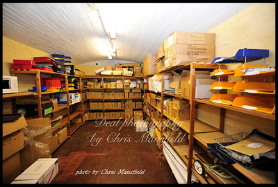 store room in the town hall basement