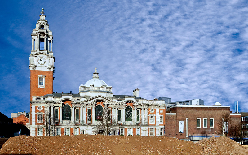 Dec' 11th 2007 .. View of the Town hall from Peggy Middleton house,
