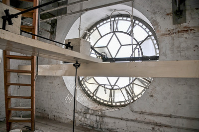 31st March 2008, Inside the town hall clock