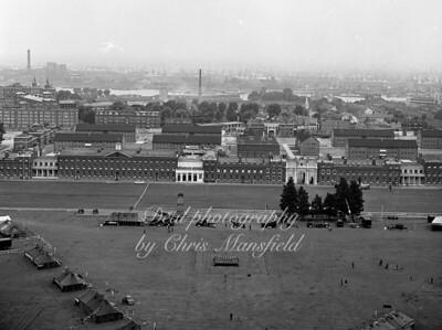 June 1963.  RA Barracks .. preparing for RA at home event