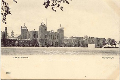 Approx' late 1800s. military academy