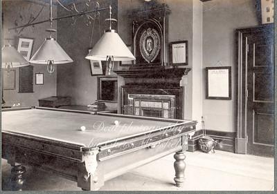 the seniors billiard room