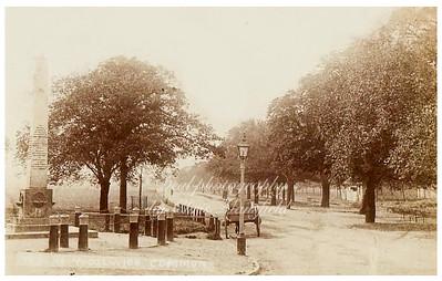 Around 1900.  HaHa road