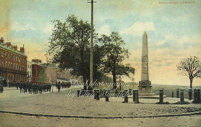 Early 1900s postcard . Woolwich common
