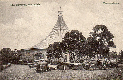 Old Postcard, The Rotunda