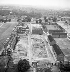 June 1963 RA Barracks renovation work