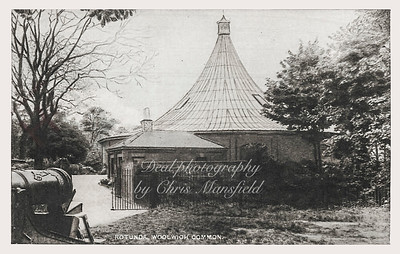 Old Postcard. The Rotunda