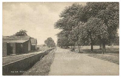Early Postcard Ha Ha road