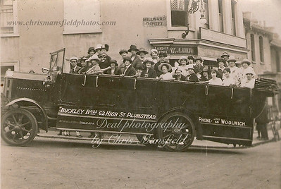 Approx' 1920... Ladies Charabanc outing ..