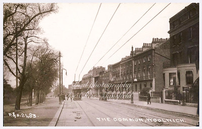 Early 1900s Postcard.  Woolwich common