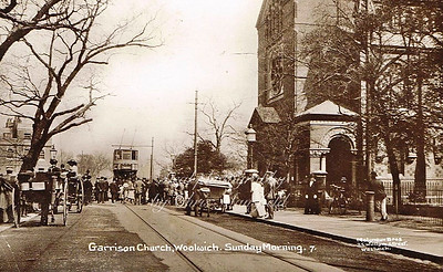 Early 1900s. Garrison church