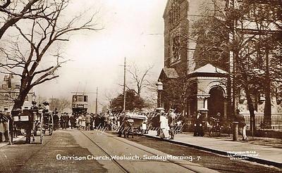 Early 1900s. Garrison church