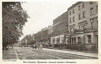 Early Postcard.  Woolwich common