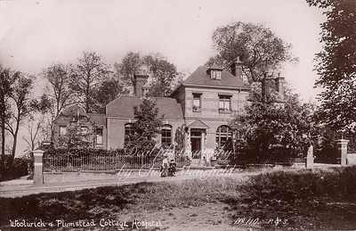 early 1900s.  Shooters hill cottage hospital