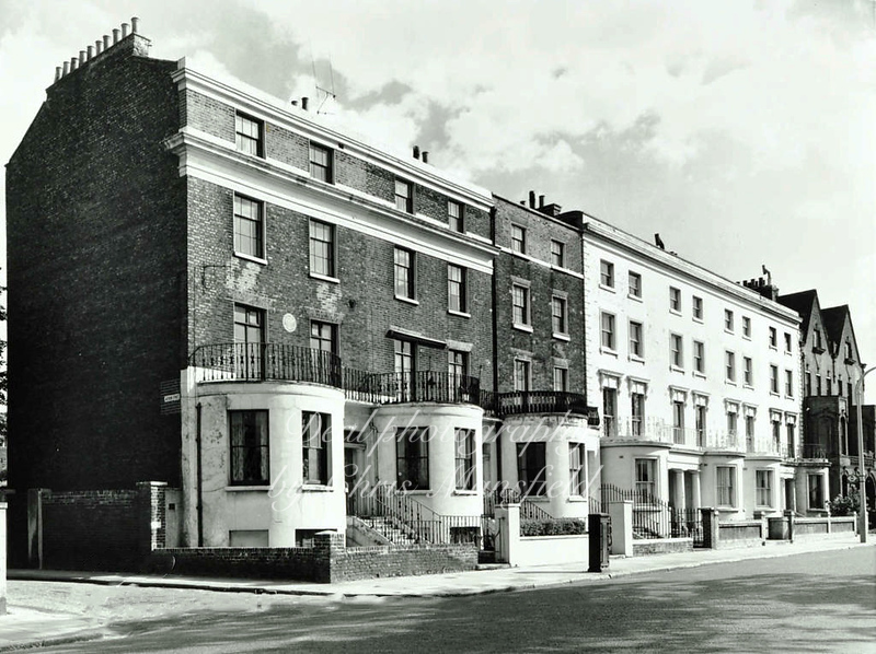 Approx' 1960 .. Woolwich common and Gordons house