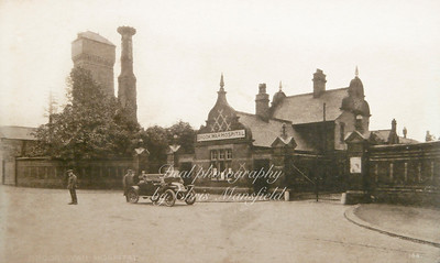 Early Postcard. Brook Hospital