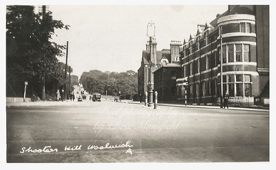 Early postcard, Shooters hill