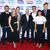 Brett Weitz, Jason Jones, Samantha Bee, John Martin, David Levy, Kevin Reilly, Rashida Jones and Conan O'Brien attend TBS Night Out at The New Museum on May 17, 2016 in New York City.<br /> Credit: John Nacion Imaging