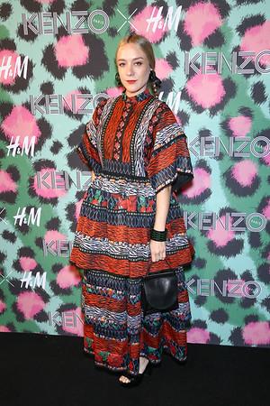 H&M X KENZO PARIS RED CARPET 2016-2629