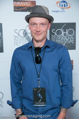 Actor Stephan Goldbach attends SOHO International Film Festival 2015 at Village East Cinema on May 14, 2015 in New York City.