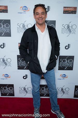Jon Lindstrom attends SOHO International Film Festival Film 2015 at Village East Cinema on May 14, 2015 in New York City.