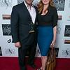 Actors Steve Stanulis & Deborah Twiss attends SOHO International Film Festival Film 2015 at Village East Cinema on May 14, 2015 in New York City.