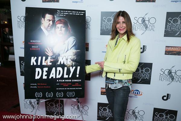 Costume Designer Kimberly Freed attends SOHO International Film Festival Film 2015 at Village East Cinema on May 14, 2015 in New York City.