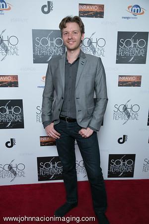 Nikolas Muehe attends SOHO International Film Festival Film 2015 at Village East Cinema on May 14, 2015 in New York City.