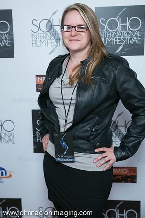 Barbara S. Mueller attends SOHO International Film Festival Film 2015 at Village East Cinema on May 14, 2015 in New York City.