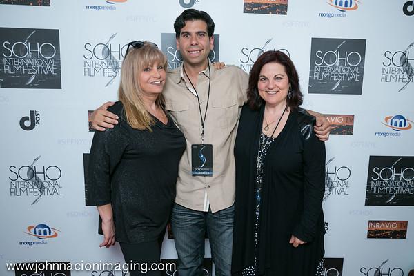 Elias Plagianos, Kory Diskin and Debra Markowitz attend SOHO International Film Festival Film 2015 at Village East Cinema on May 14, 2015 in New York City.