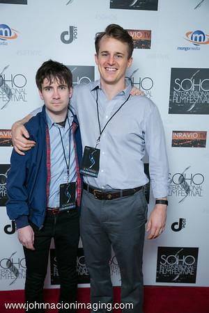 Will Cart & Matt Stadellman attend SOHO International Film Festival 2015 at Village East Cinema on May 14, 2015 in New York City.
