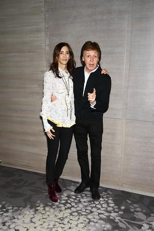 Linda McCartney and Paul McCartney