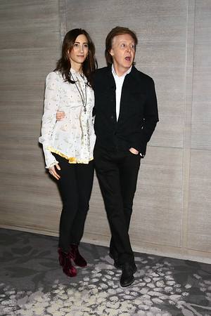"""Pre-Screening cocktails of """"This Beautiful Fantastics"""" at the Park Hyatt in NY., Nesw York City on December 19, 2016."""
