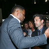 Patrick Dempsey and Michael Strahan attend the TAG Heuer At TimeCrafters NYC 2016 on May 12, 2016 in New York City.<br /> Credit: John Nacion Imaging