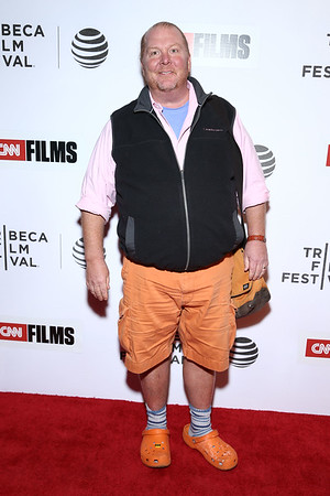 Chef Mario Batali at CNN Films - Jeremiah Tower: The Last Magnificent at TFF Panel & Party on April 16, 2016 in New York City.                              Photo: John Nacion Imaging