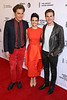 Actors Michael Shannon, Carla Gugino and Taylor John Smith attend the 'Wolves' premiere during 2016 Tribeca Film Festival at SVA Theatre on April 15, 2016 in New York City.