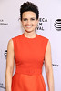 Actress Carla Gugino attends the 'Wolves' premiere during 2016 Tribeca Film Festival at SVA Theatre on April 15, 2016 in New York City.