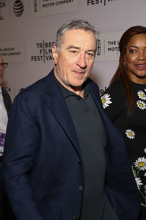 Actor Robert De Niro & wife Grace De Niro attend the 'A Hologram For The King' Premiere at the 2016 Tribeca Film Festival at the John Zuccotti Theater at BMCC Tribeca Performing Arts Center on April 20, 2016 in New York City.Photo by: John Nacion Imaging